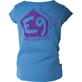 E9 B Rica T-Shirt Kids Cyan